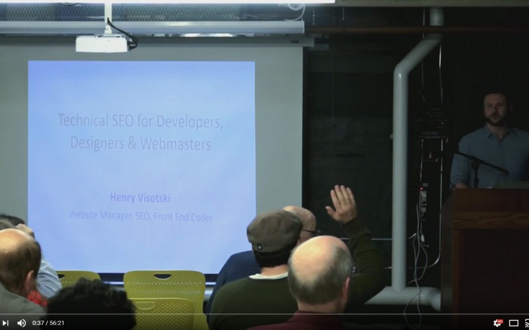 Technical SEO for Developers, Designers and Webmasters